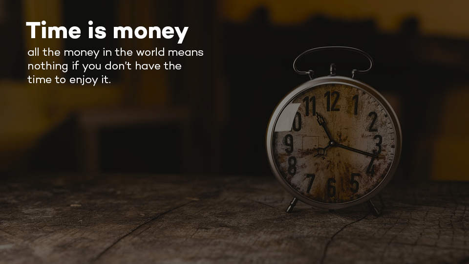 time is money when investing